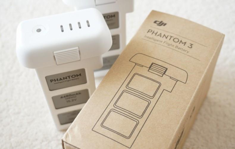 Phantom3のバッテリーを買うならどこがお得?最安値とポイントを含めて。