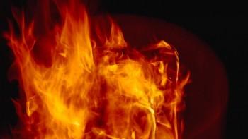リチウムイオン電池(ドローンのバッテリー)での発火・火災に注意。