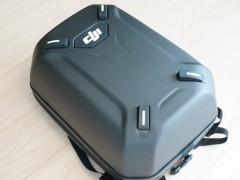 さすがDJI純正!ハードシェルバッグパックはハイクオリティ。
