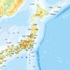 人口集中地区のマップ