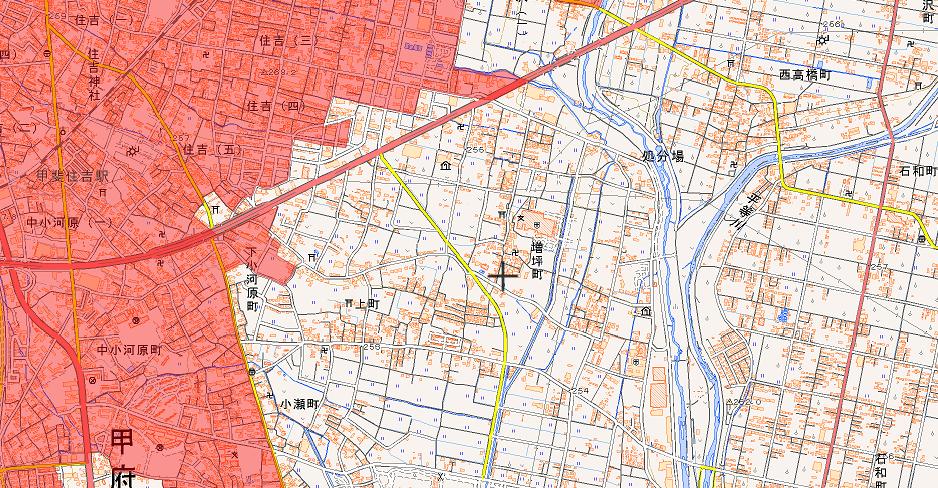 人口集中地区のギリギリ