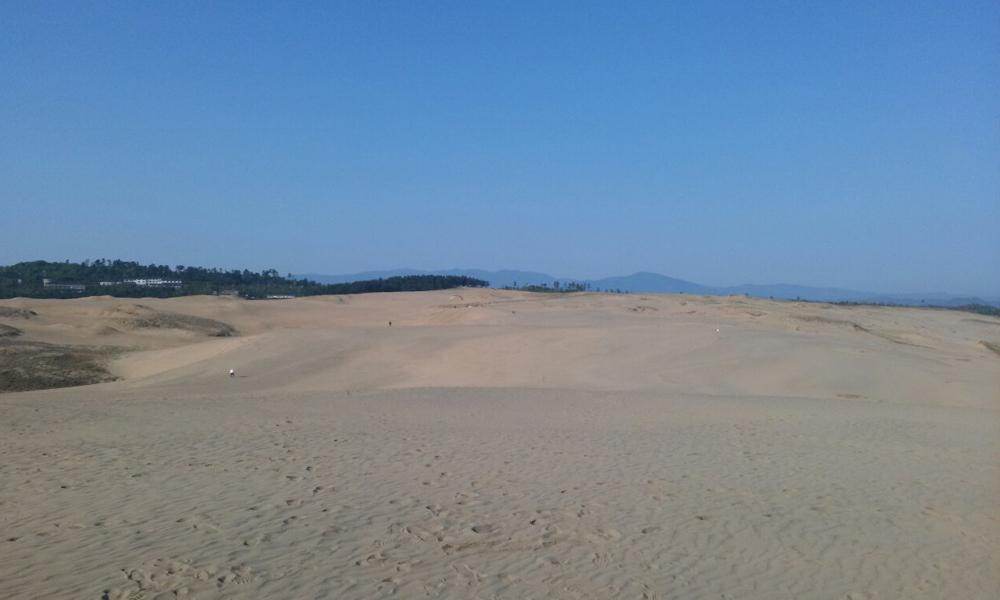 鳥取砂丘デジカメ