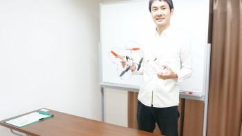 ドローンの操縦ワークショップ(初心者向け教室)開催! 5月11日(木)19:15~@CCK
