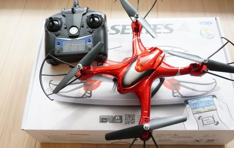 【HS200レビュー】安定・機能・操作、すべてバランスが取れた遊べるトイドローン