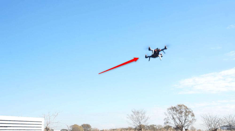 DBPOWERの飛行