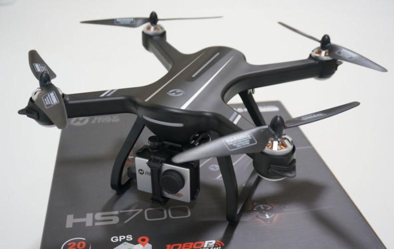 【HS700レビュー】高性能ドローンなのに3万円!?飛行動画、空撮してみました