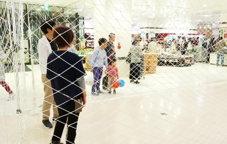 イオンのボンベルタ成田店催事「ドローン操縦体験会」しました