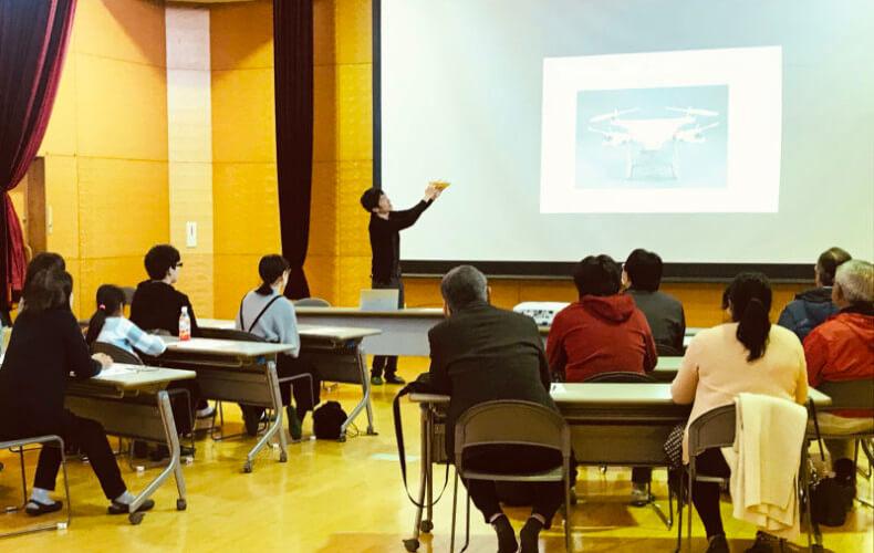 草加市ドローン操縦イベントの講師として招かれました