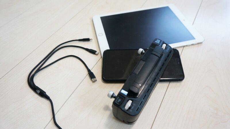 3in1充電ケーブルを買って、ドローン含めてUSB充電がスッキリしすぎた話