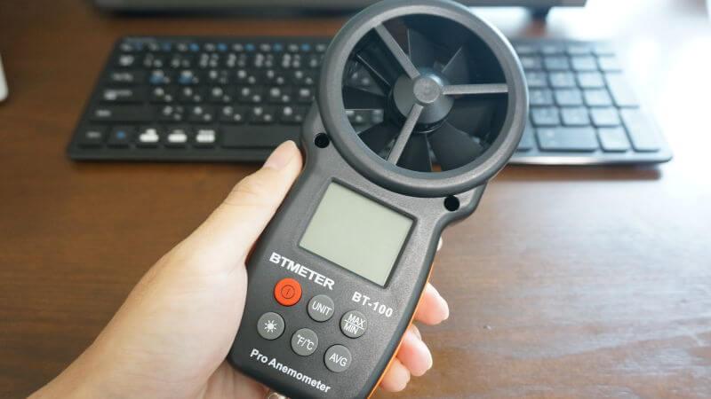 デジタル風速計 BT-100
