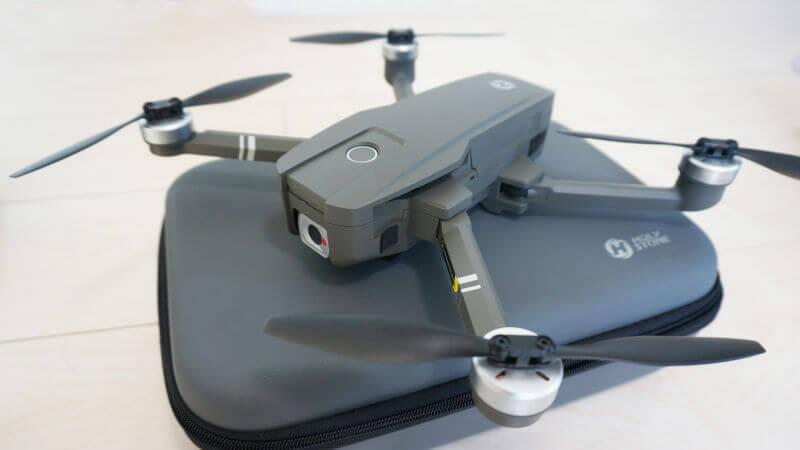 【HS720レビュー】折りたたみ式+GPS+ポジショニング機能があるリーズナブルなドローン