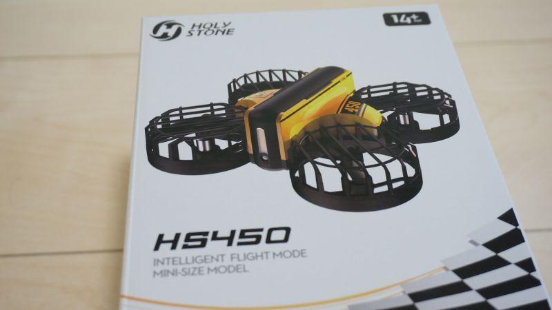 HS450の外箱