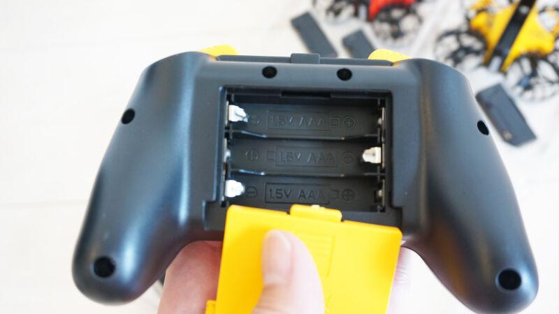 HS350-Bは単4電池